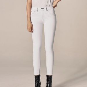Rag and bone blanc skinny jeans
